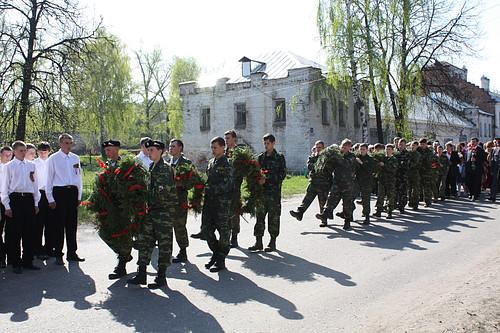 Участники военно-патриотического клуба